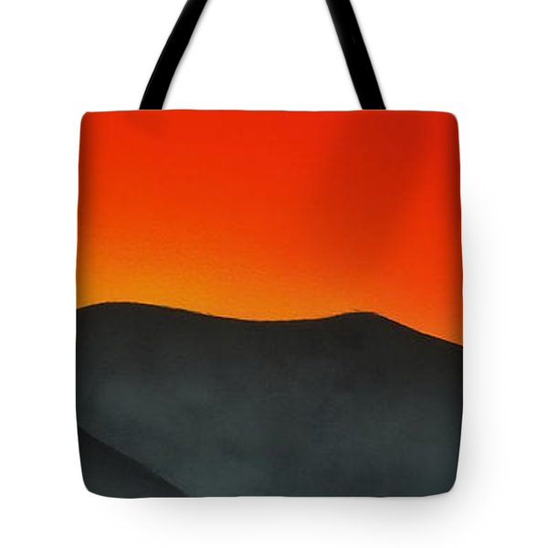 Hakarimata Sunset Tote Bag