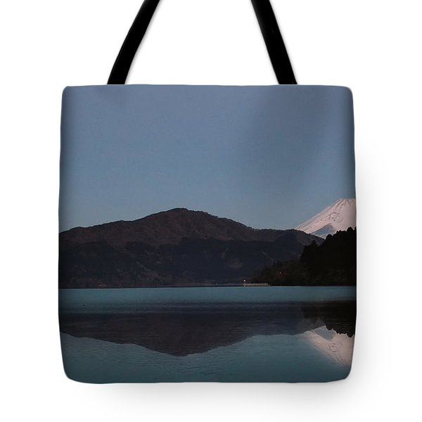 Hakone Lake Tote Bag