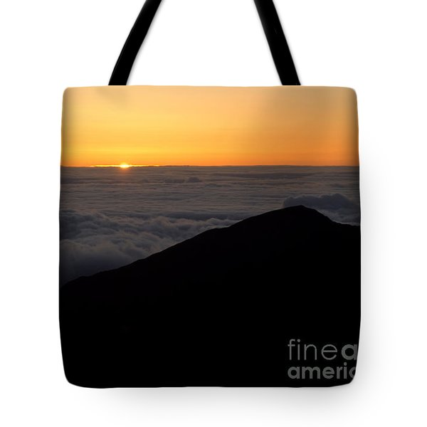 Haleakala Sunrise Tote Bag by Benjamin Reed