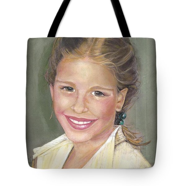Haley  Tote Bag by Diane Strain