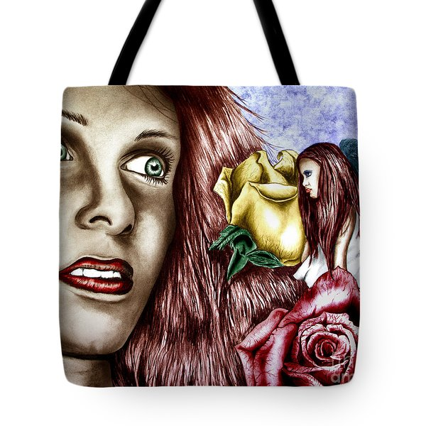 Haleys Apparition Colored Tote Bag by Peter Piatt
