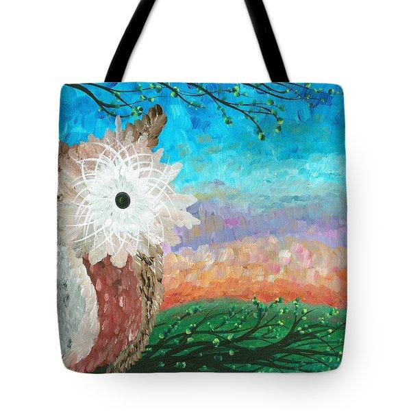 Half-a-hoot 02 Tote Bag