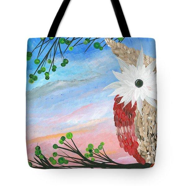 Half-a-hoot 03 Tote Bag