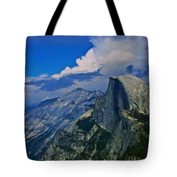 Half Dome From Glacier Point Tote Bag by Eric Tressler