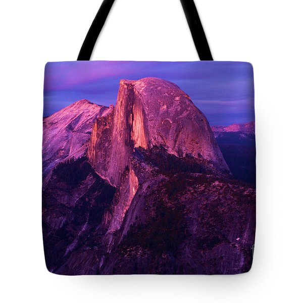 Half Dome Glow Tote Bag