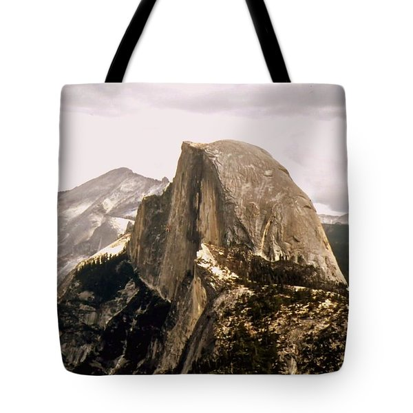 Half Dome Tote Bag by Kathleen Struckle