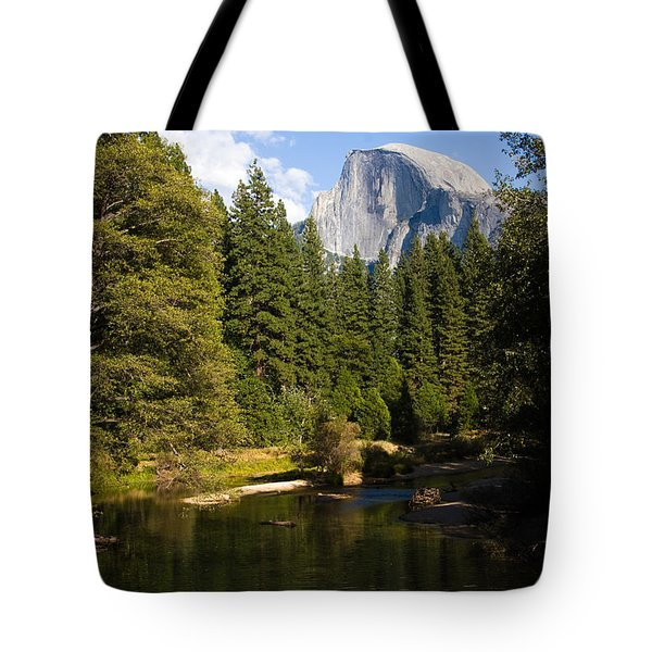Half Dome Yosemite National Park Tote Bag