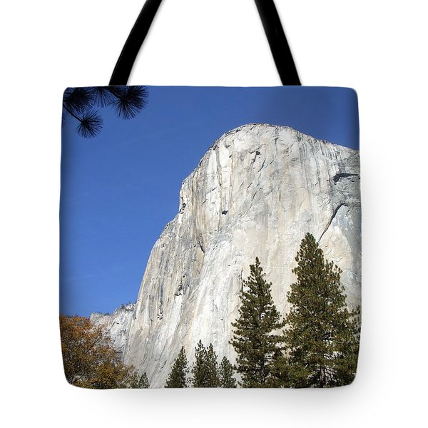 Tote Bag featuring the photograph Half Dome Yosemite by Richard Reeve