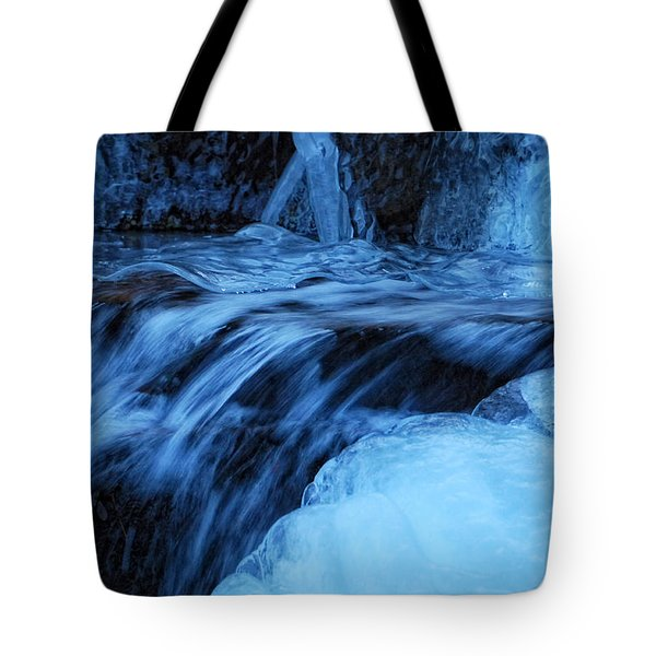 Half Frozen Tote Bag by Donna Blackhall