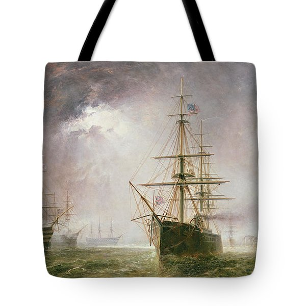Half Mast High 19th Century Tote Bag by  Robert  Dudley