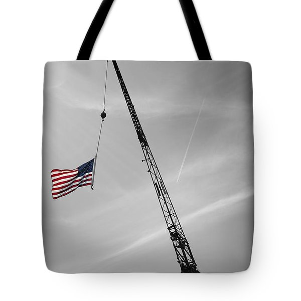 Half-mast Tote Bag