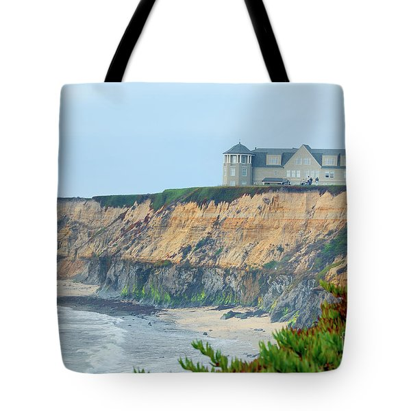 Half Moon Bay Tote Bag by Betty LaRue