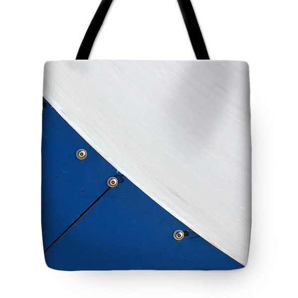 Half Pipe Abstract 4 Tote Bag