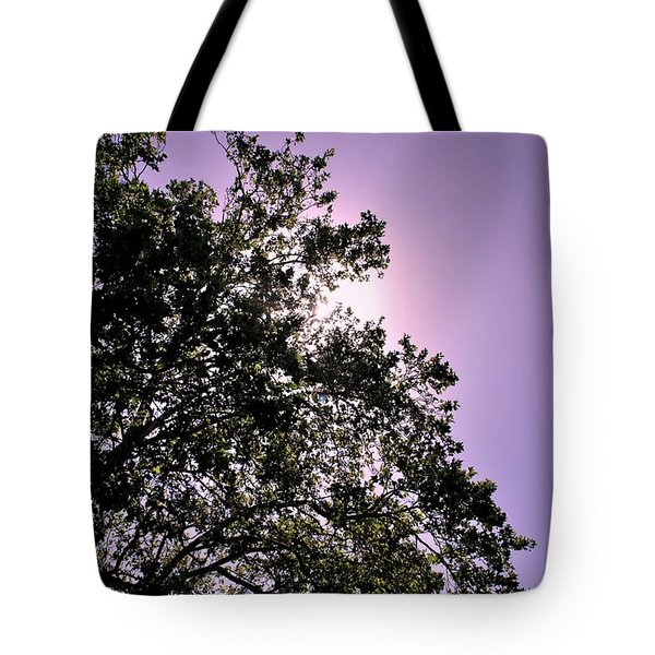 Tote Bag featuring the photograph Half Tree by Matt Harang