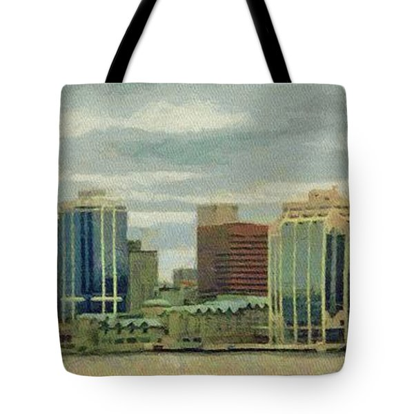 Halifax From The Harbour Tote Bag