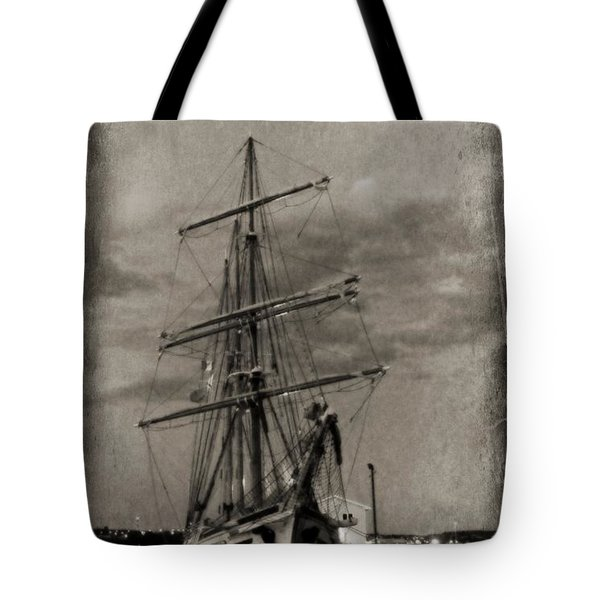 Halifax Harbour Tote Bag by John Malone