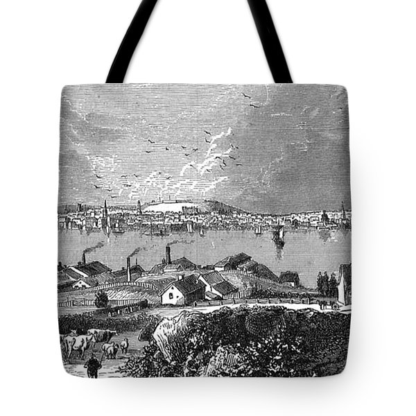 Halifax Ns - 1878 Tote Bag