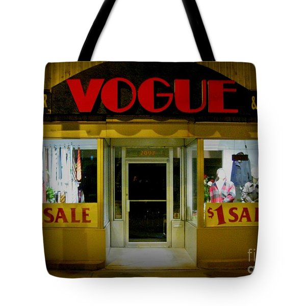 Halifax Vogue Tote Bag by John Malone