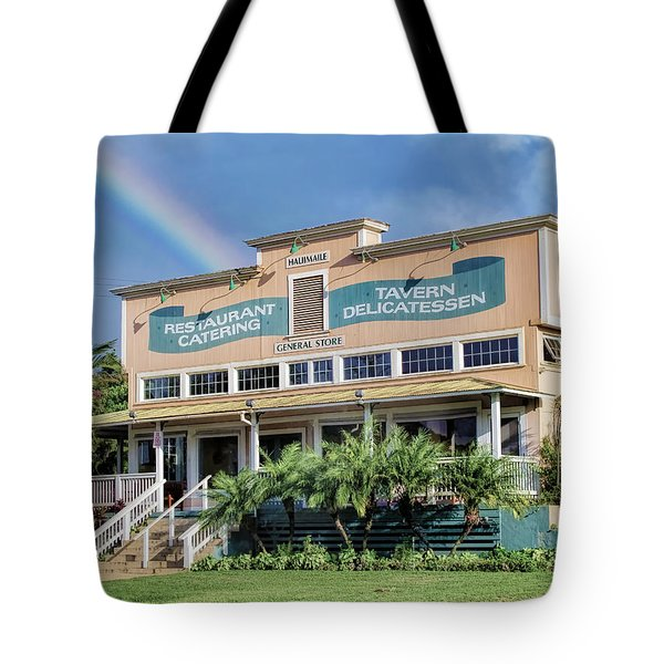 Tote Bag featuring the photograph Haliimaile General Store 1 by Dawn Eshelman