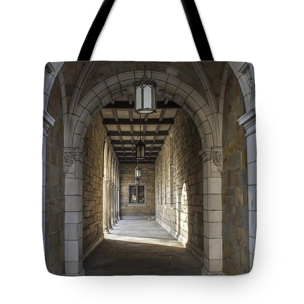 Hall At U Of M  Tote Bag by John McGraw