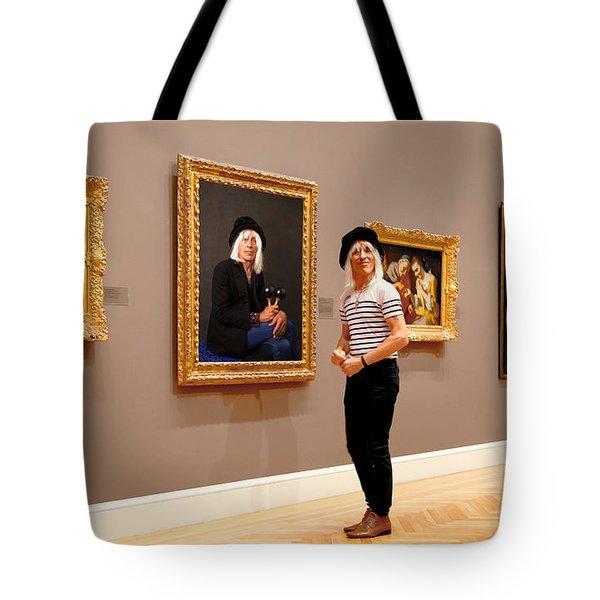 Hall Of Fame Tote Bag by Daniel Furon