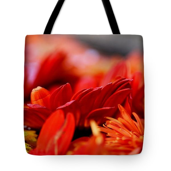 Hall Of Flame Tote Bag