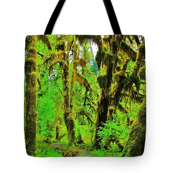 Hall Of Moss Tote Bag by Benjamin Yeager