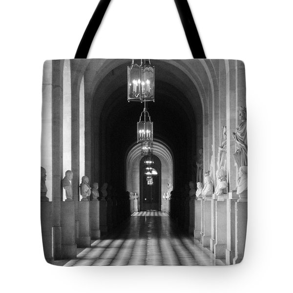 Tote Bag featuring the photograph Hall Of Sculpture by Meaghan Troup