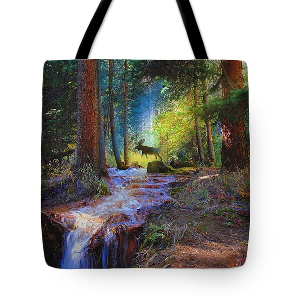 Hall Valley Moose Tote Bag