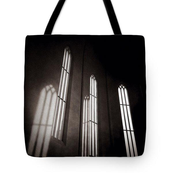 Hallgrimskirkja Windows Tote Bag