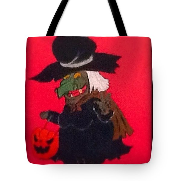 Halloween Fun Tote Bag by Catherine Swerediuk