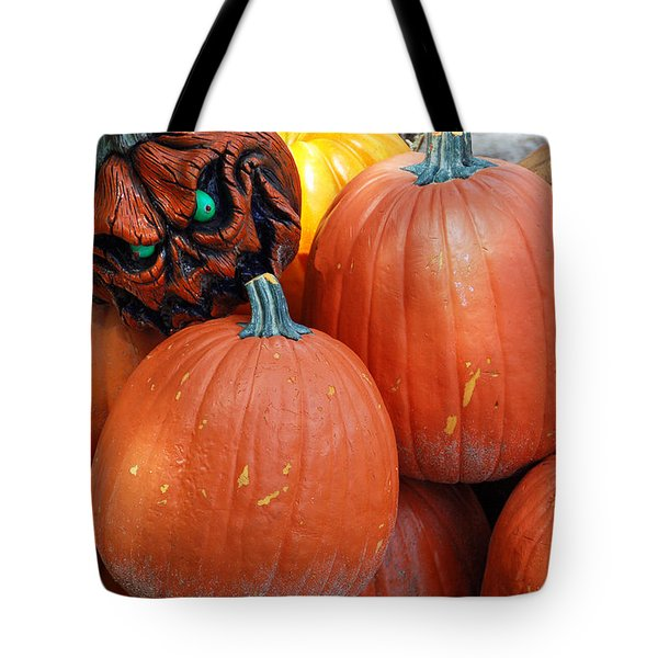 Halloween Goblin Tote Bag by Aimee L Maher Photography and Art Visit ALMGallerydotcom