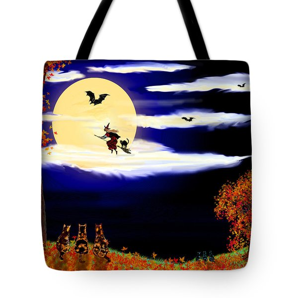 Halloween Night Tote Bag