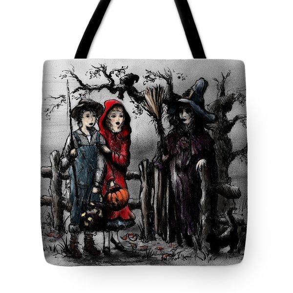 Halloween Night Tote Bag