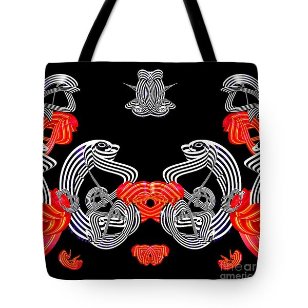 Halloween Party By Jammer Tote Bag by First Star Art