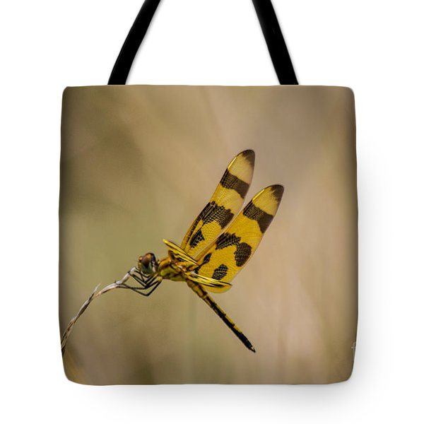 Halloween Pennant Dragonfly Tote Bag