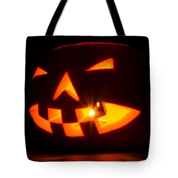 Halloween - Smiling Jack O' Lantern Tote Bag