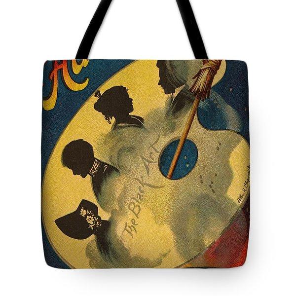 Halloween The Black Art Tote Bag by Ellen Hattie Clapsaddle
