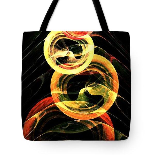 Halloween Vision Tote Bag by Anastasiya Malakhova