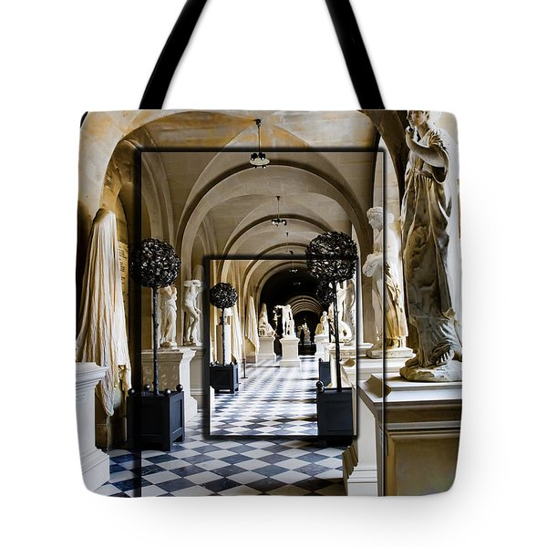Halls Of Versailles Paris Tote Bag