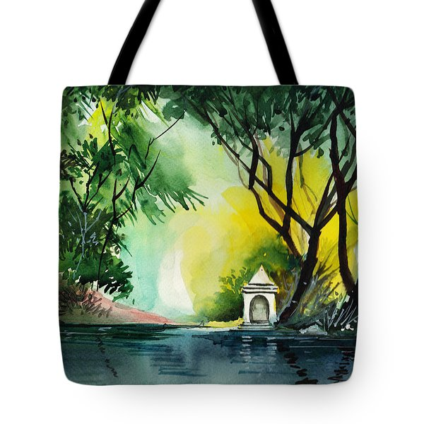 Halo Tote Bag by Anil Nene