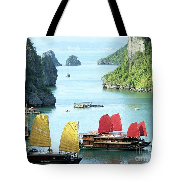 Halong Bay Sails 01 Tote Bag