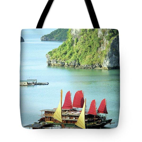 Halong Bay Sails 02 Tote Bag