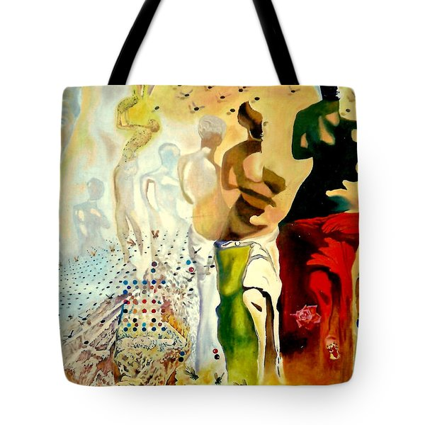 Halucinogenic Toreador By Salvador Dali Tote Bag