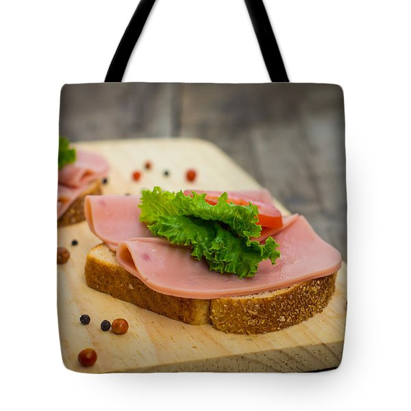 Ham Sandwiches Tote Bag