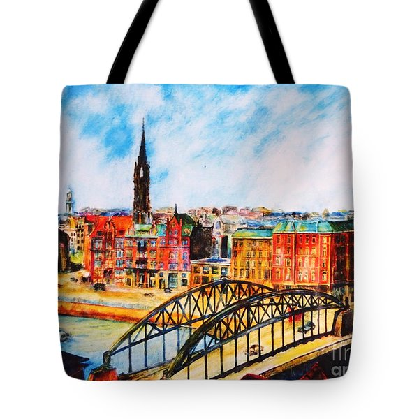 Hamburg - The Beauty At The River Tote Bag