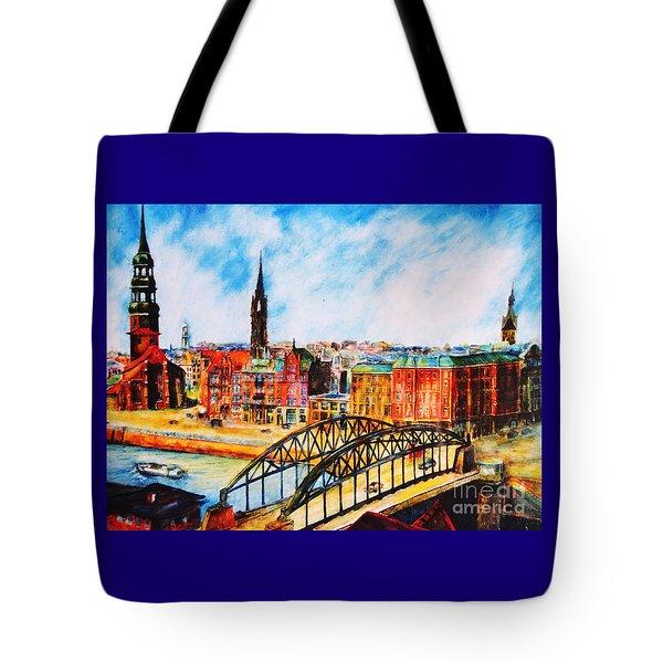 Hamburg - The Beauty At The River Tote Bag