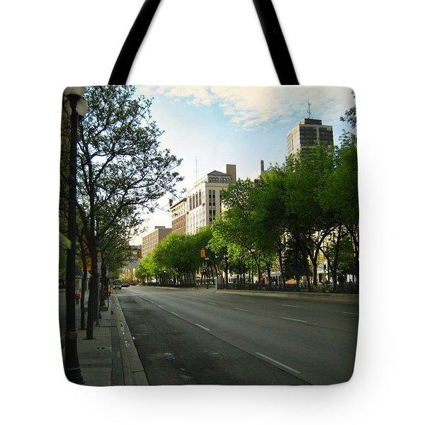 Hamilton At Dawn Tote Bag