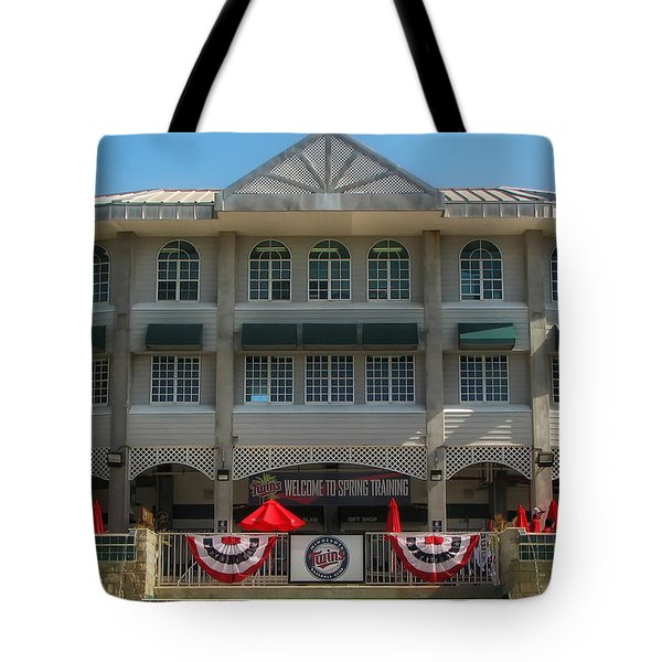 Hammond Stadium Tote Bag