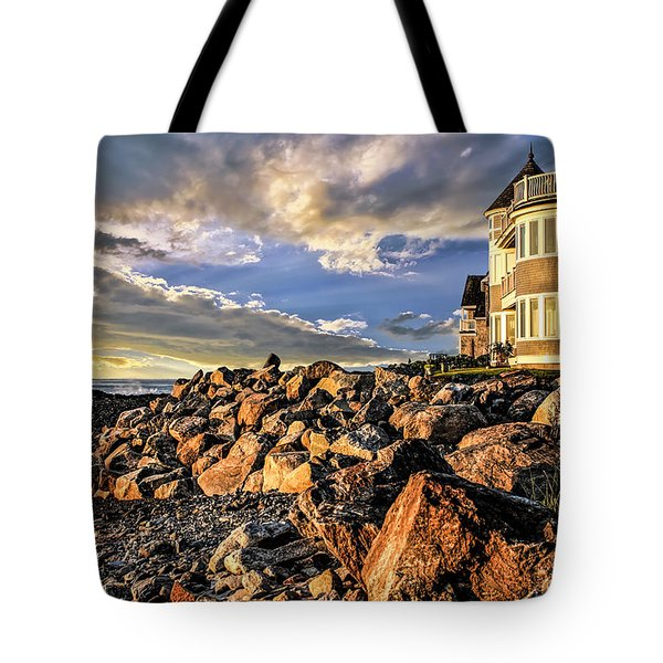 Hampton Beach Sunrise Tote Bag